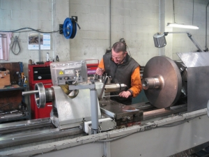 Metalspray Engineering Ltd - Large Colchester lathe